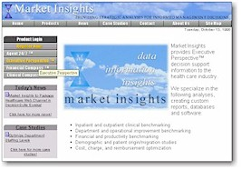 Market Insights Website